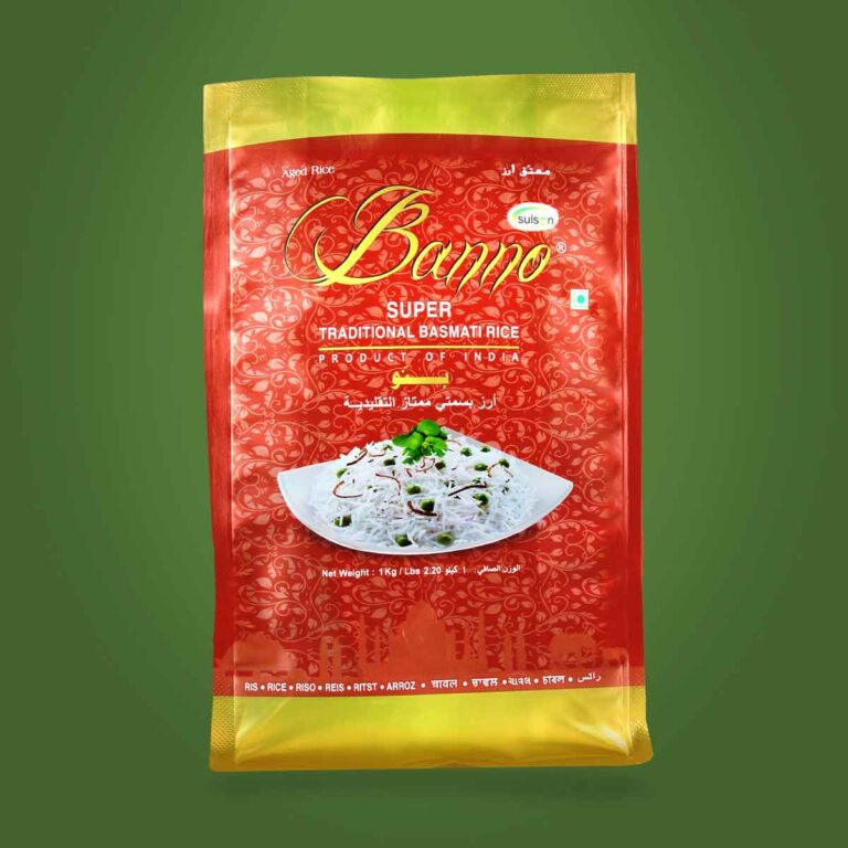 Banno Super Traditional Basmati Rice