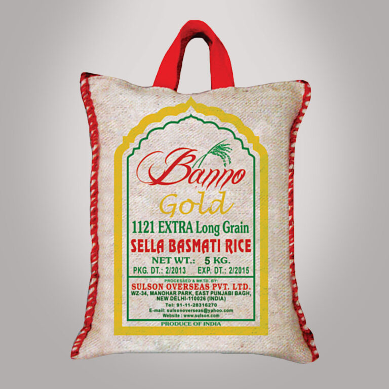 Golden Sella Extra Long Basmati Rice